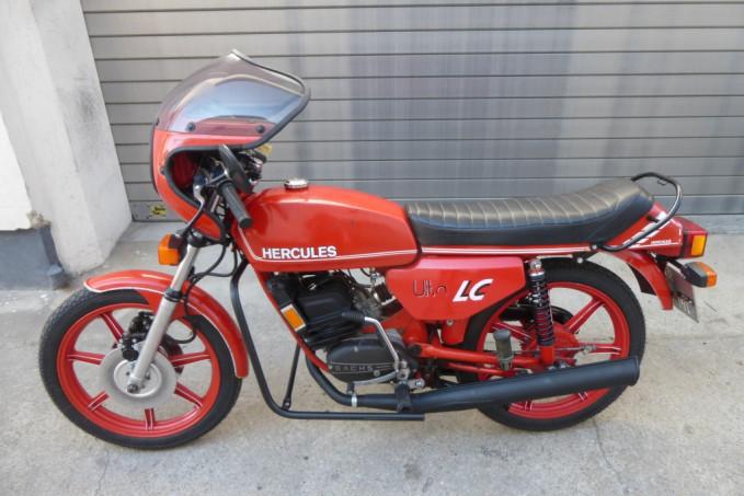 Hercules K50 Ultra lc bj.77 - Teilrestauration
